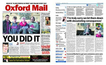 Oxford Mail – March 27, 2018
