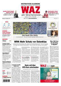 WAZ Westdeutsche Allgemeine Zeitung Oberhausen-Sterkrade - 25. November 2017