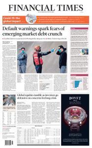 Financial Times Europe - April 2, 2020
