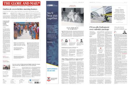 The Globe and Mail – April 02, 2020