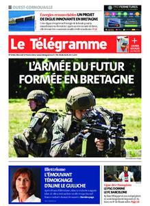 Le Télégramme Ouest Cornouaille – 17 février 2021