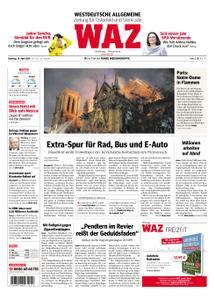 WAZ Westdeutsche Allgemeine Zeitung Oberhausen-Sterkrade - 16. April 2019