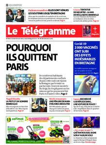 Le Télégramme Quimper – 20 mars 2021