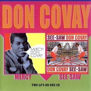 Don Covay - Mercy (1965) + See-Saw (1966) 2 LP on 1 CD, 2000