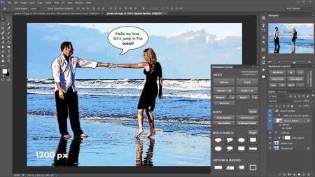 Photobacks Cartoon 1.0.5 Plug-in for Adobe Photoshop (Win/Mac)