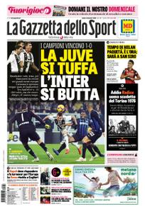 La Gazzetta dello Sport Roma – 08 dicembre 2018