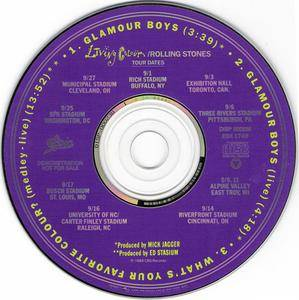 Living Colour - Glamour Boys (US promo CD5) (1989) {Epic} **[RE-UP]**