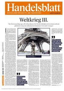 Handelsblatt - 16. November 2015