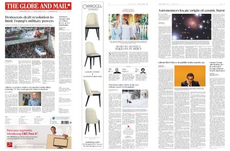 The Globe and Mail – January 07, 2020