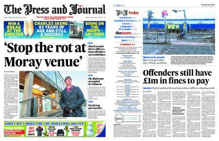The Press and Journal Moray – December 18, 2017