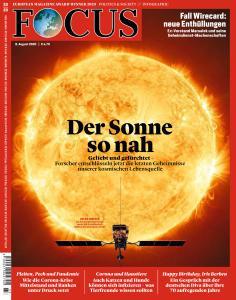 Focus - 8 August 2020