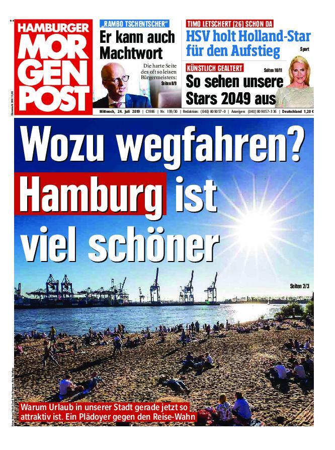 Hamburger Morgenpost – 24. Juli 2019