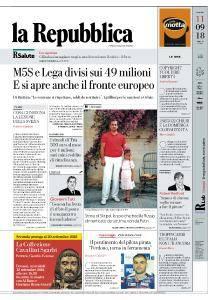 la Repubblica - 11 Settembre 2018