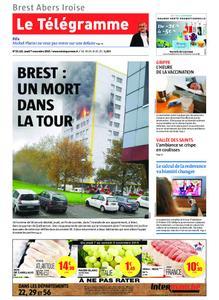 Le Télégramme Brest Abers Iroise – 07 novembre 2019