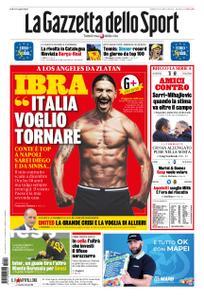 La Gazzetta dello Sport Roma – 19 ottobre 2019