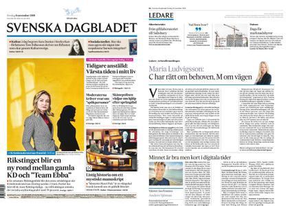 Svenska Dagbladet – 08 november 2019