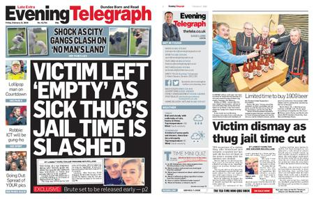 Evening Telegraph First Edition – February 21, 2020