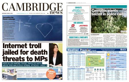 Cambridge News – April 20, 2019