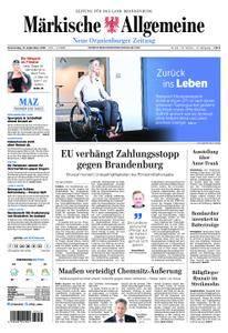 Neue Oranienburger Zeitung - 13. September 2018