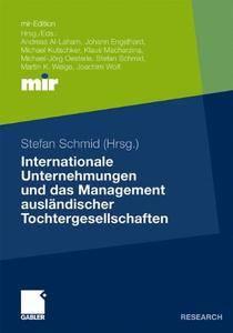 Internationale Unternehmungen und das Management ausländischer Tochtergesellschaften