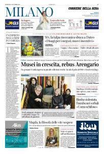 Corriere della Sera Milano - 8 Ottobre 2017
