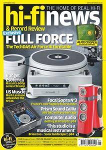 Hi-Fi News - September 2016