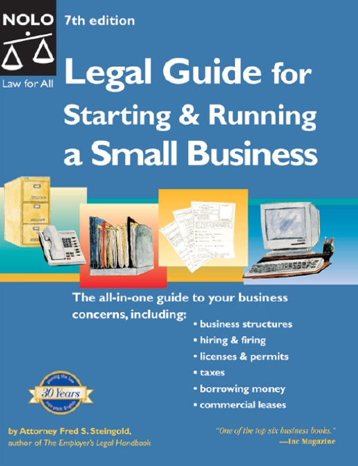 Legal Guide for Starting & Running a Small Business (Repost)