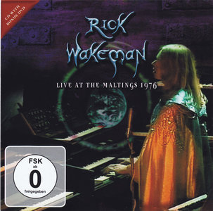 Rick Wakeman - Live At The Maltings 1976 (2013) [CD & DVD] Re-up