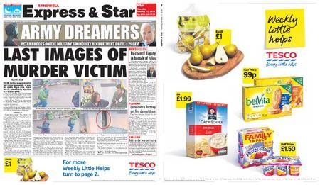 Express and Star Sandwell Edition – January 11, 2018