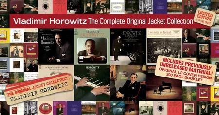 Vladimir Horowitz - The Complete Original Jacket Collection (Limited Edition 70CD Box Set, 2009)