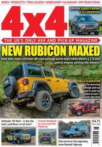 4x4 Magazine UK - August 2019