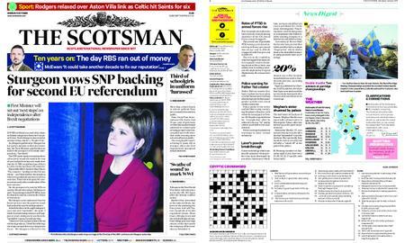 The Scotsman – October 08, 2018