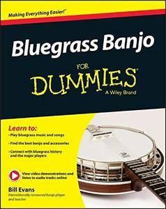 Bluegrass Banjo For Dummies (Repost)