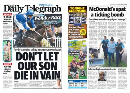 The Daily Telegraph (Sydney) – April 03, 2019