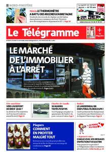 Le Télégramme Brest Abers Iroise – 11 avril 2020