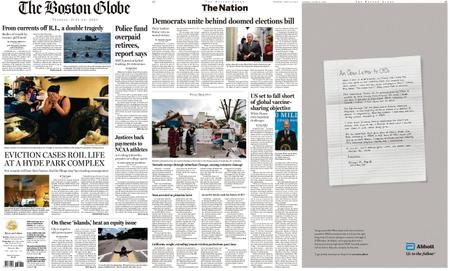 The Boston Globe – June 22, 2021