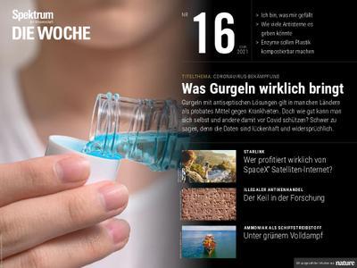 Spektrum Die Woche – 23. April 2021