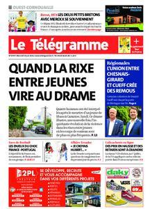 Le Télégramme Ouest Cornouaille – 23 juin 2021