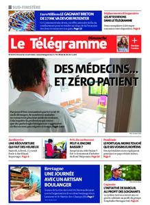 Le Télégramme Ouest Cornouaille – 12 avril 2020