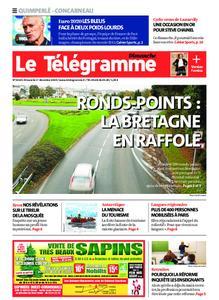 Le Télégramme Concarneau – 01 décembre 2019