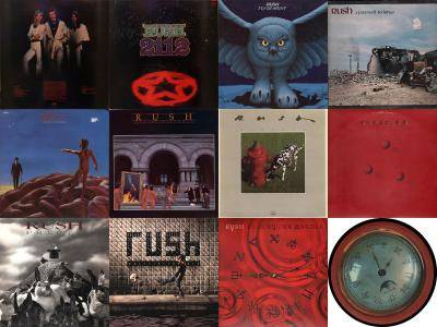 Rush: Collection (1974 - 2012) [Vinyl Rip 16/44 & mp3-320]