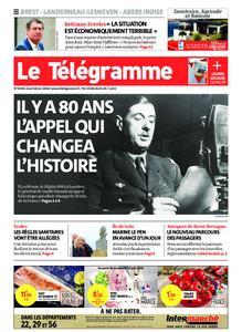 Le Télégramme Brest Abers Iroise – 18 juin 2020