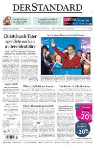 Der Standard - 4 April 2019