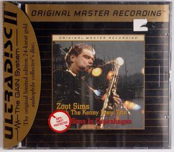 Zoot Sims with The Kenny Drew Trio - Zoot Sims in Copenhagen (1978)