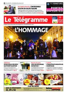 Le Télégramme Ouest Cornouaille – 22 octobre 2020