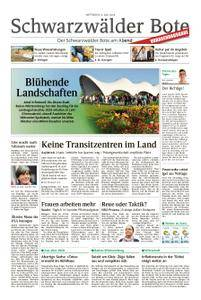 Schwarzwälder Bote St. Georgen, Triberg, Furtwangen - 04. Juli 2018