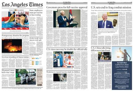 Los Angeles Times – July 27, 2021