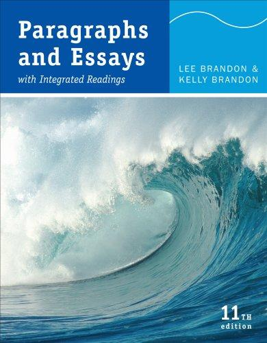Paragraphs and Essays: with Integrated Readings (11th Edition)