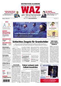 WAZ Westdeutsche Allgemeine Zeitung Oberhausen-Sterkrade - 14. Oktober 2017