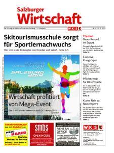 Salzburger Wirtschaft – 22. Februar 2019